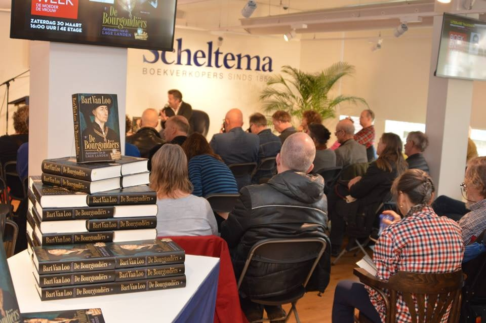 book party at Scheltema