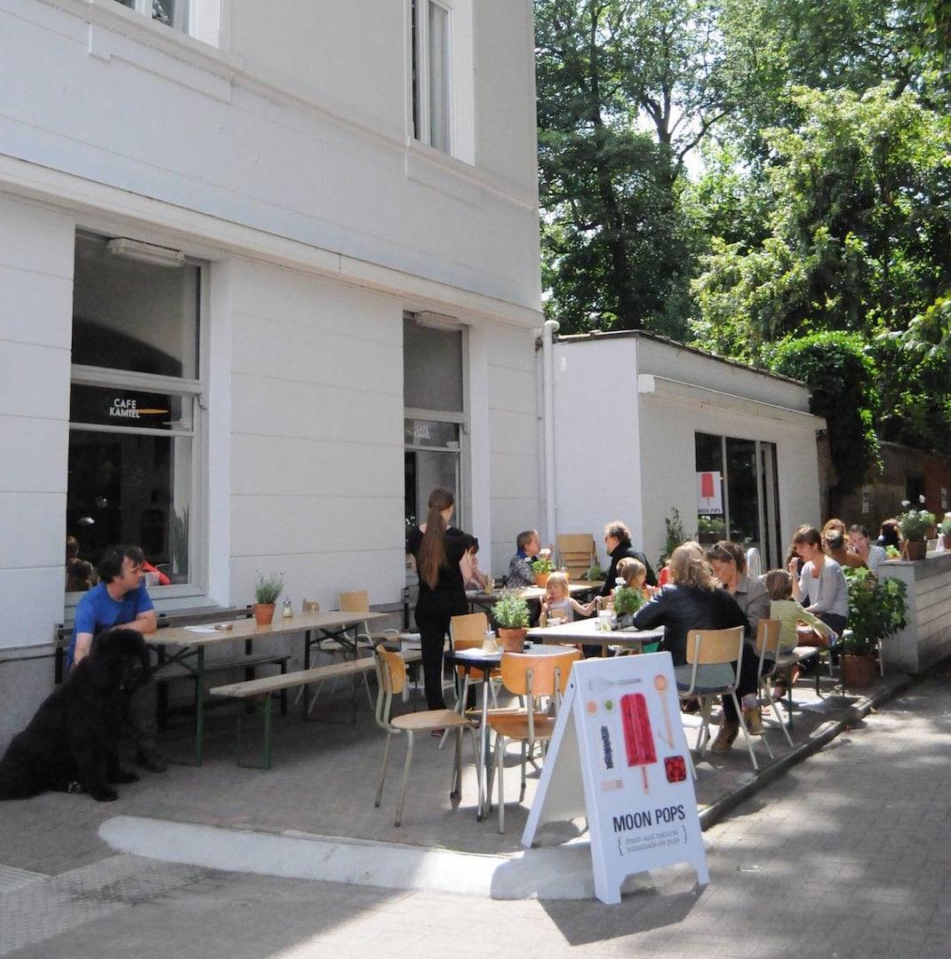 terrace at Café Kamiel