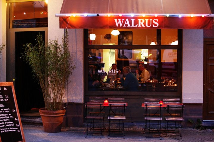 Walrus restaurant in Antwerp