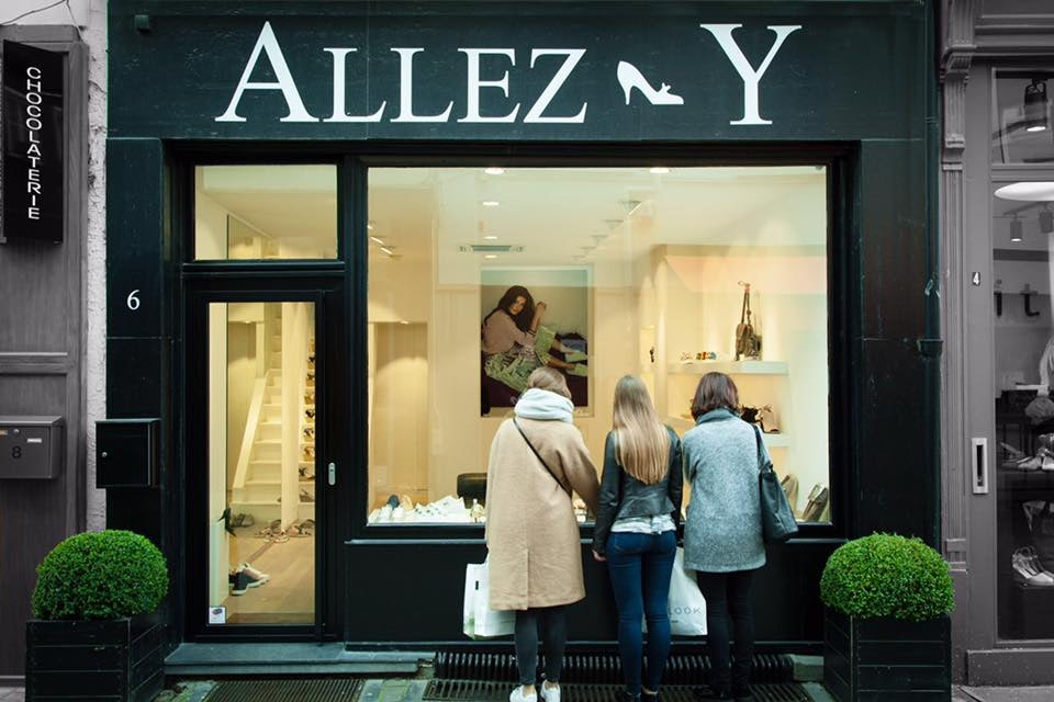 Allez-Y shoe shop in Antwerp