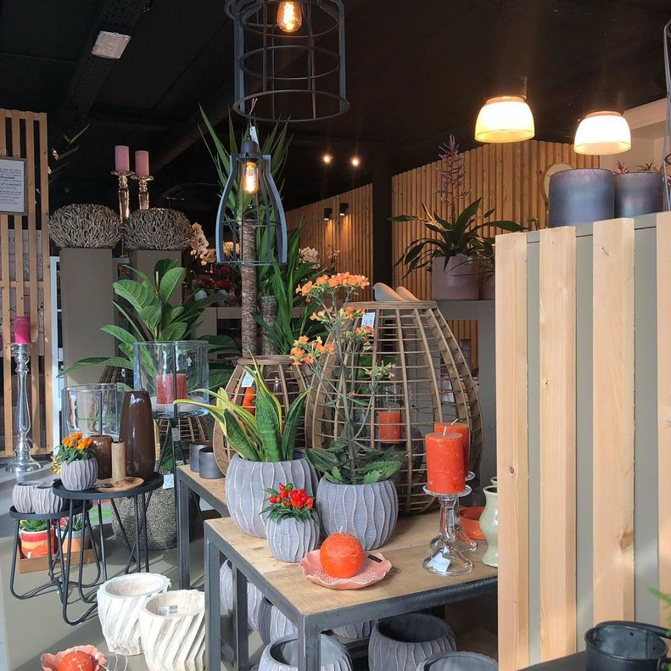 plants and pots at Fiori Antwerp
