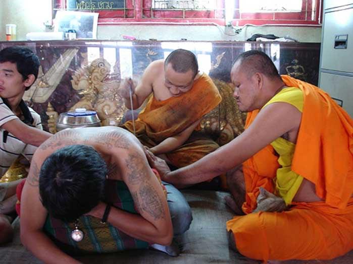 Wat Bang Phra Tattoo festival