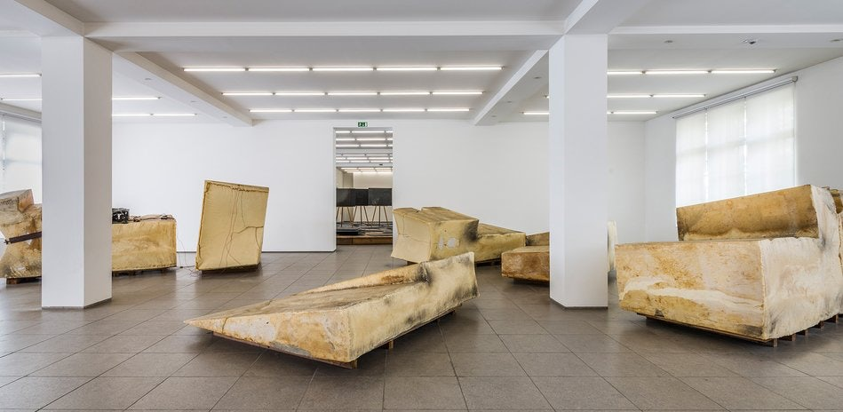 art by Joseph Beuys at the Hamburger Bahnhof