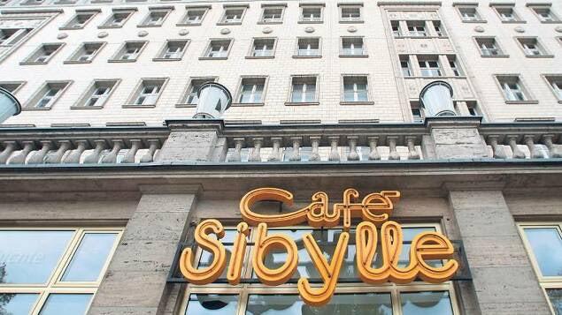 Café Sibylle at Karl-Marx-Allee