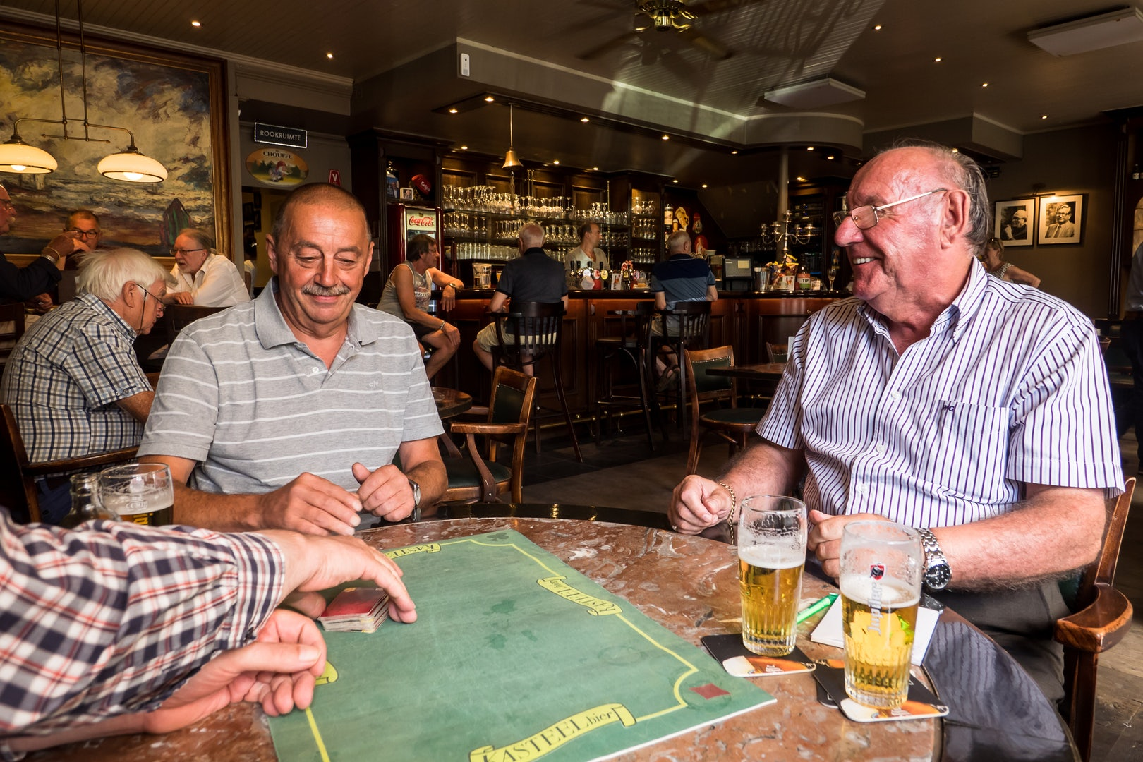people playing games at Hollandse Vismijn