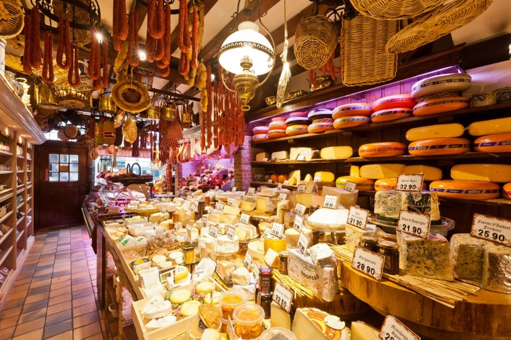 cheeses at Diksmuids Boterhuis