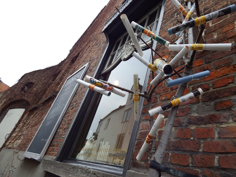 exterior of Simbolik shop in Bruges