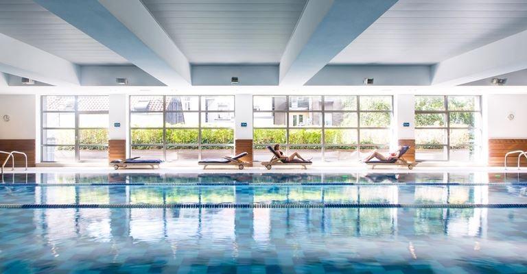 swimming pool at Aspria Arts-Loi Brussels