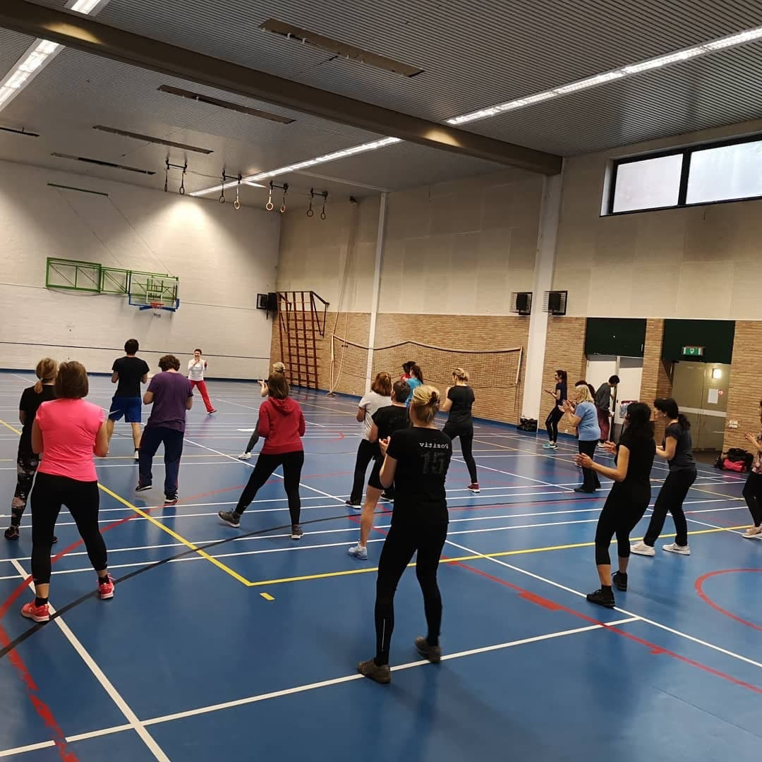 sport session with Friskis & Svettis Brussels