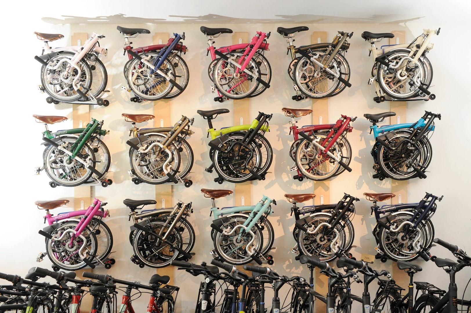 foldable bikes at Velofixer