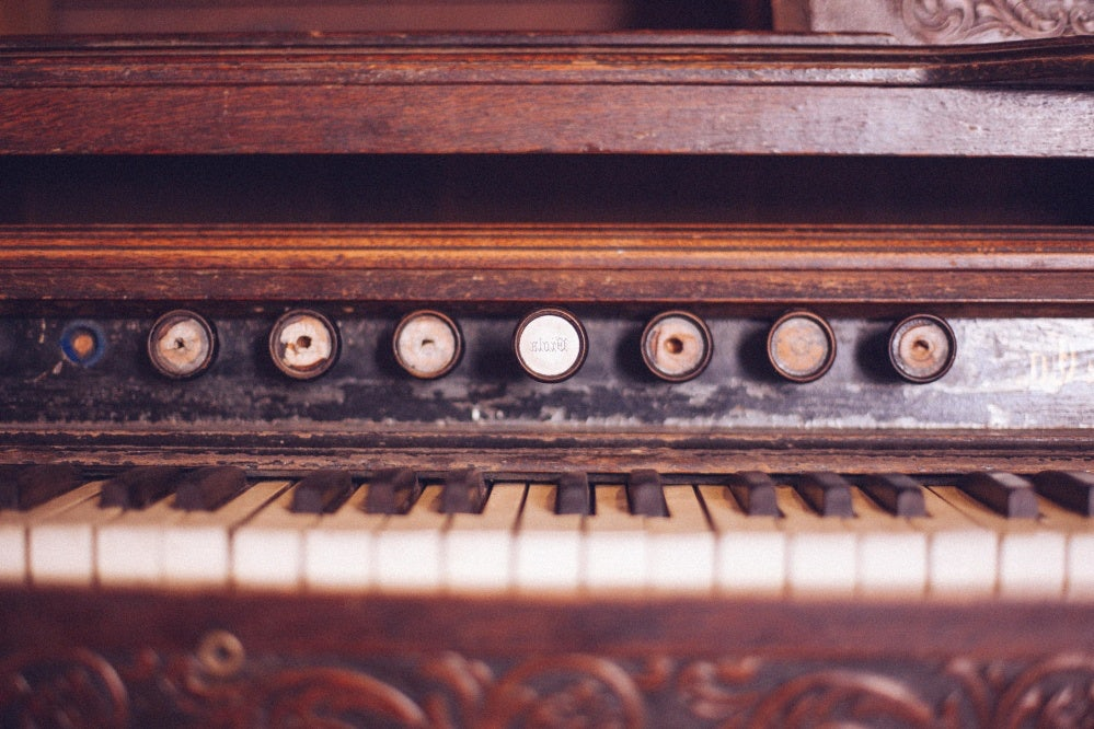 old piano