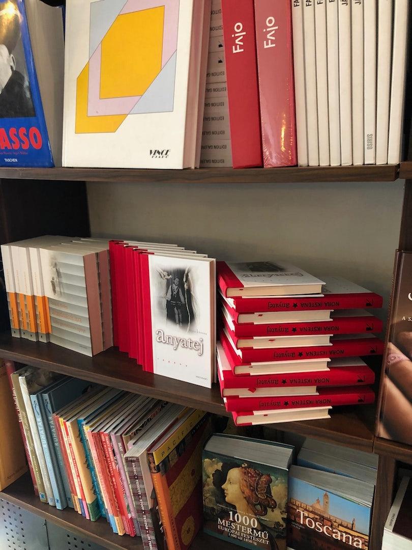 books at Klauzal 13