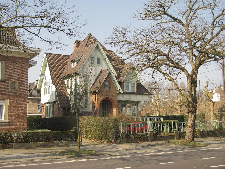 a house in Ghent's Miljoenenkwartier