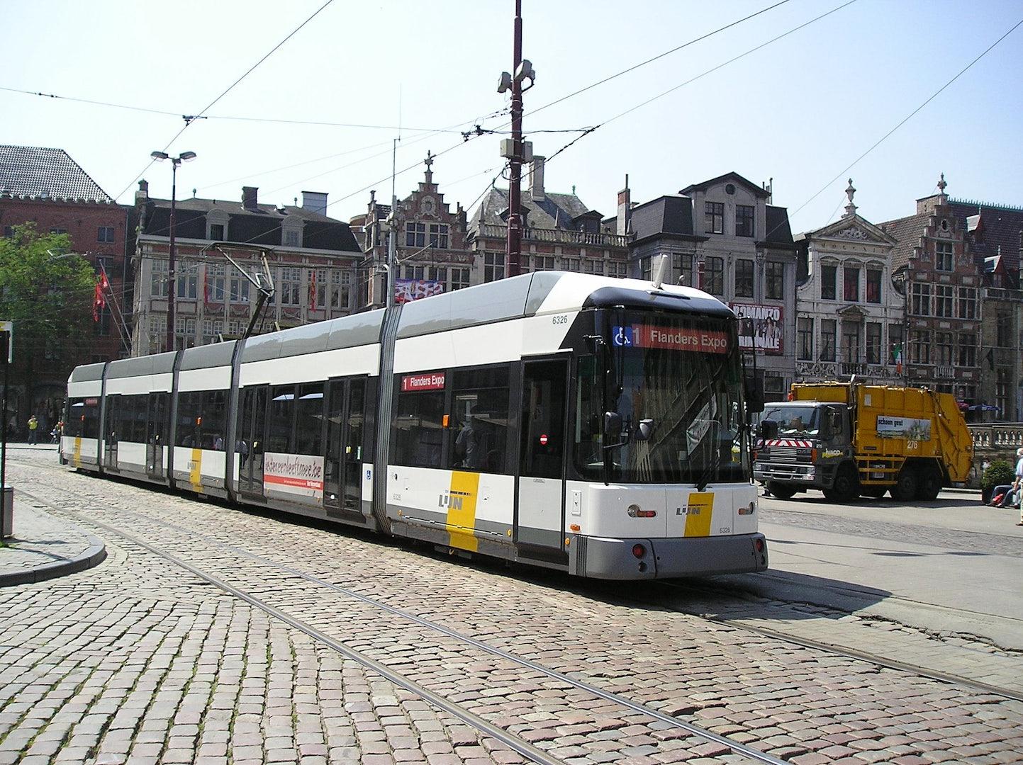 Tram 1 in Ghent