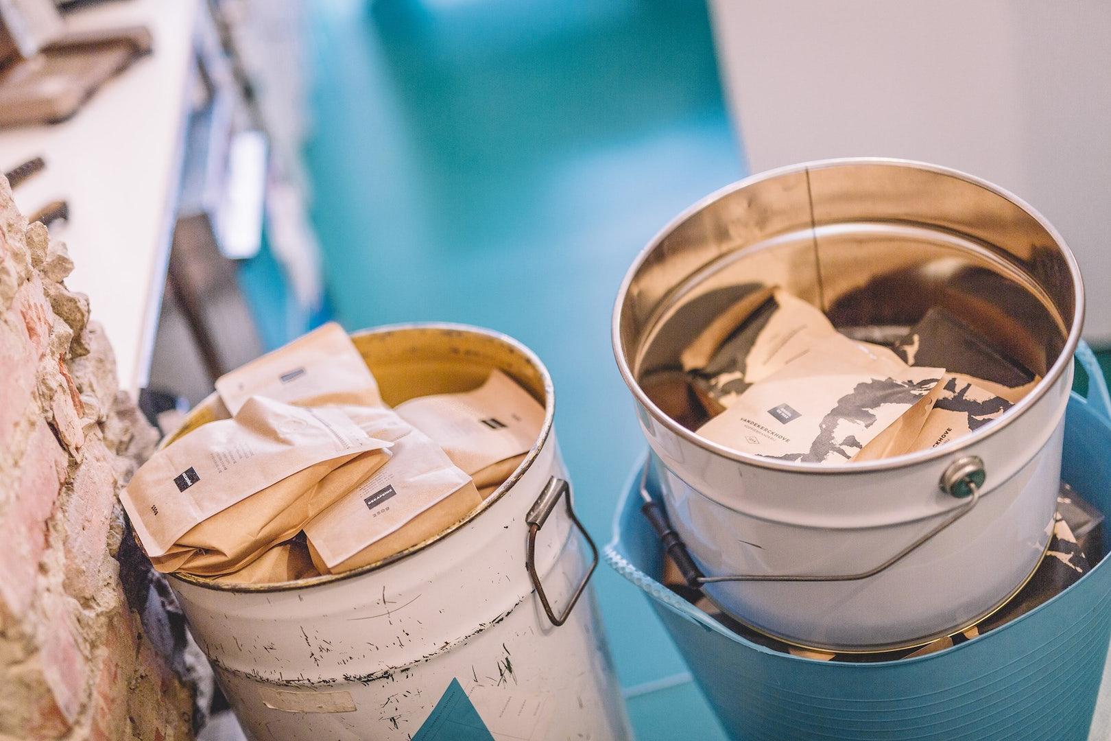 coffee from Vandekerckhove Koffiebranderij