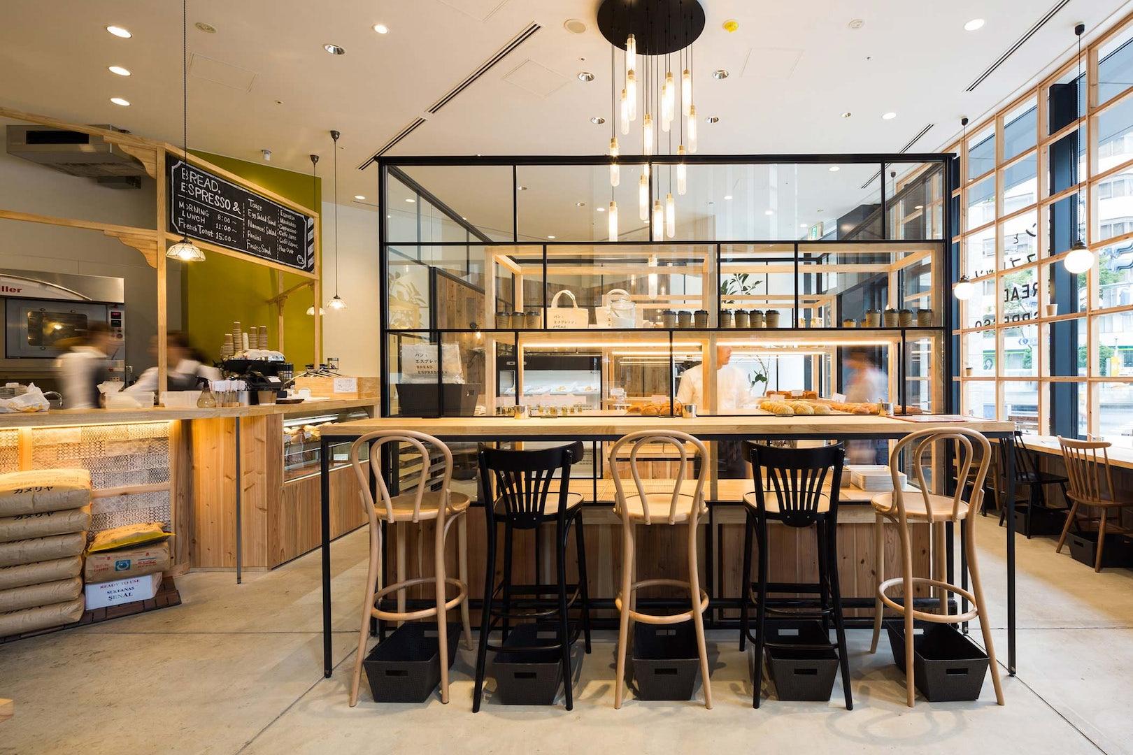 bar interior of bread espresso & in Tokyo