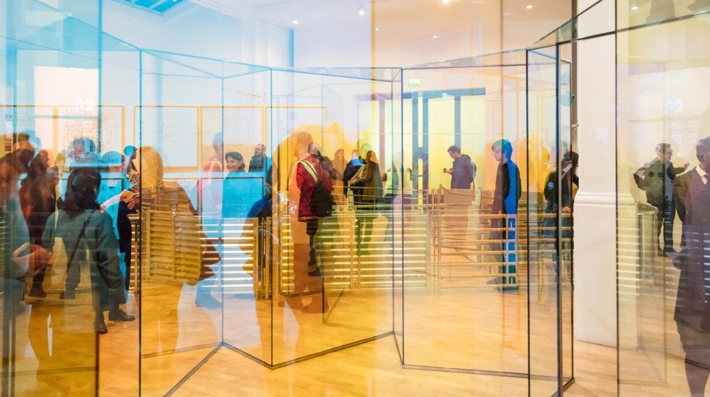 art exhibition at Whitechapel Gallery