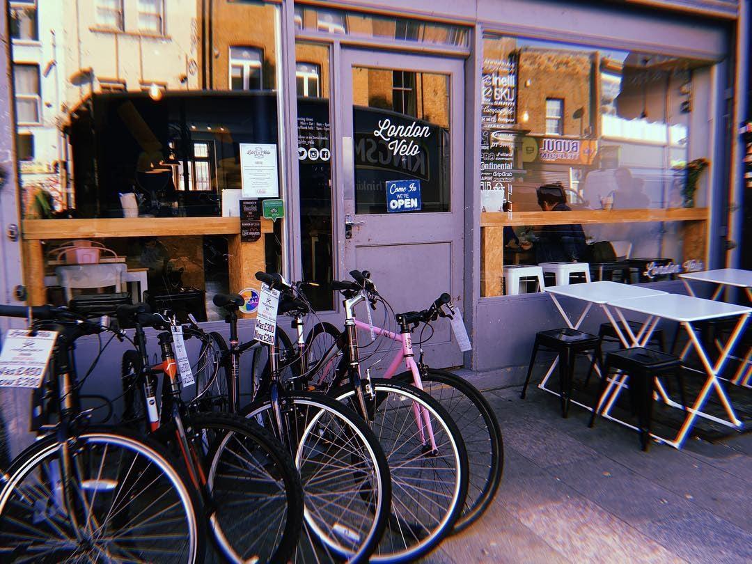 bikes at London Velo