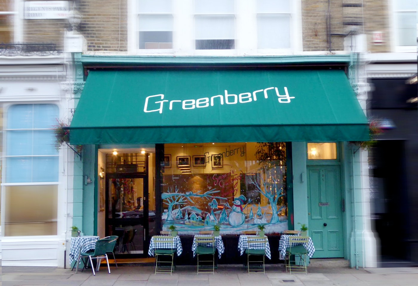 Greenberry Café in London