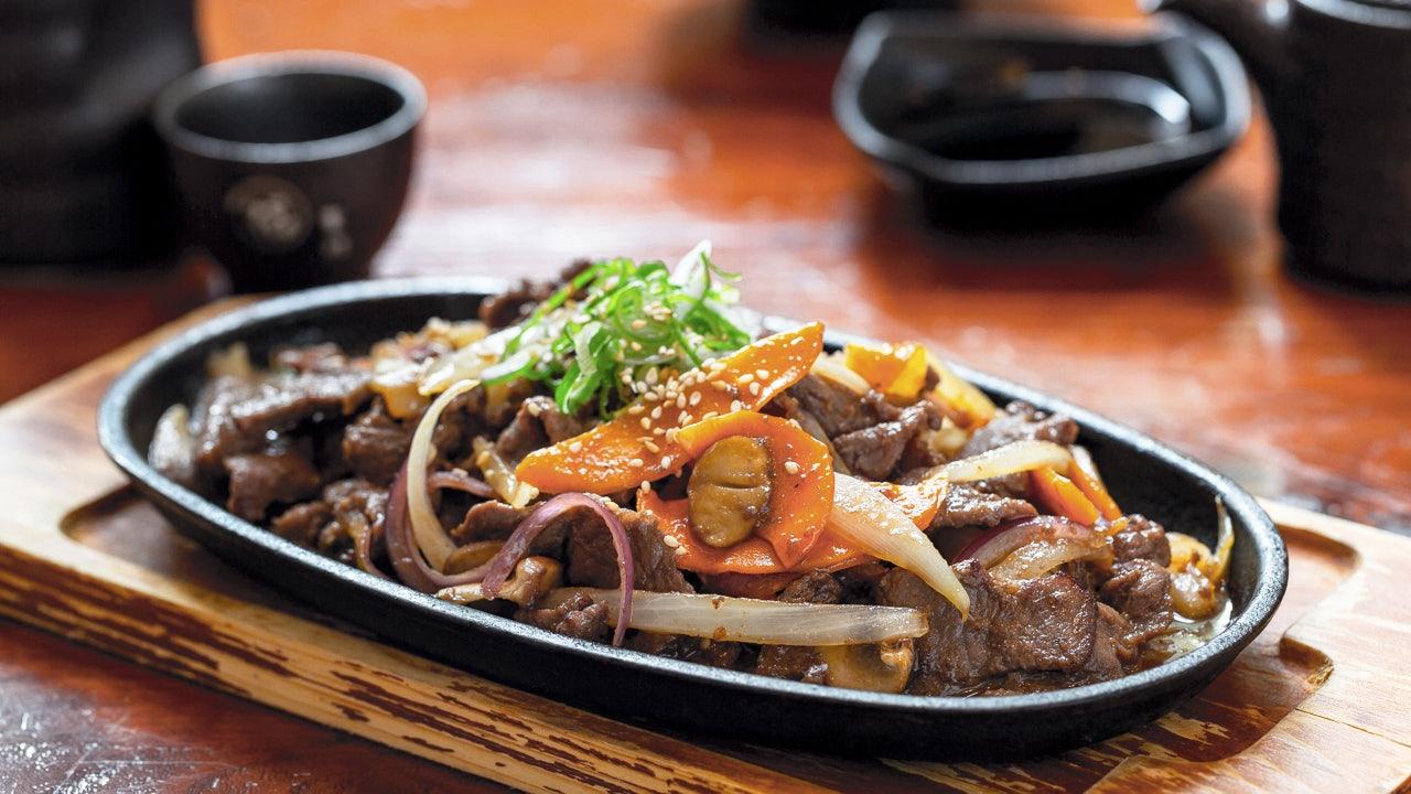 food at Sushinoen