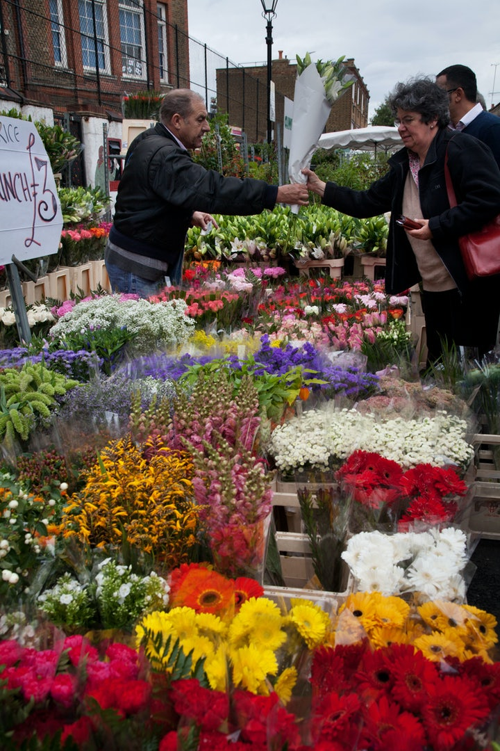 Columbia Road Flower Market