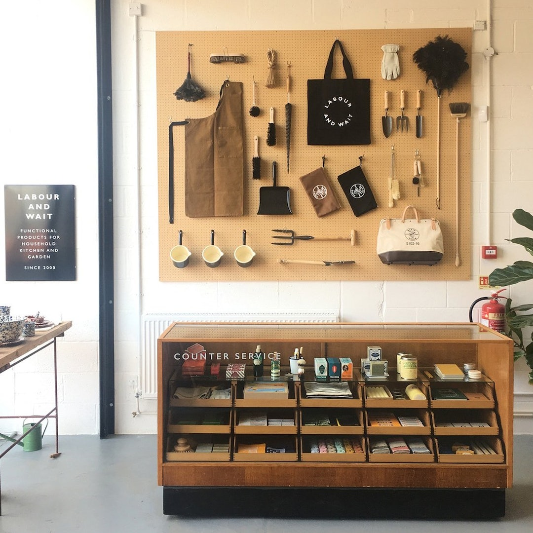 products at Labour and Wait store