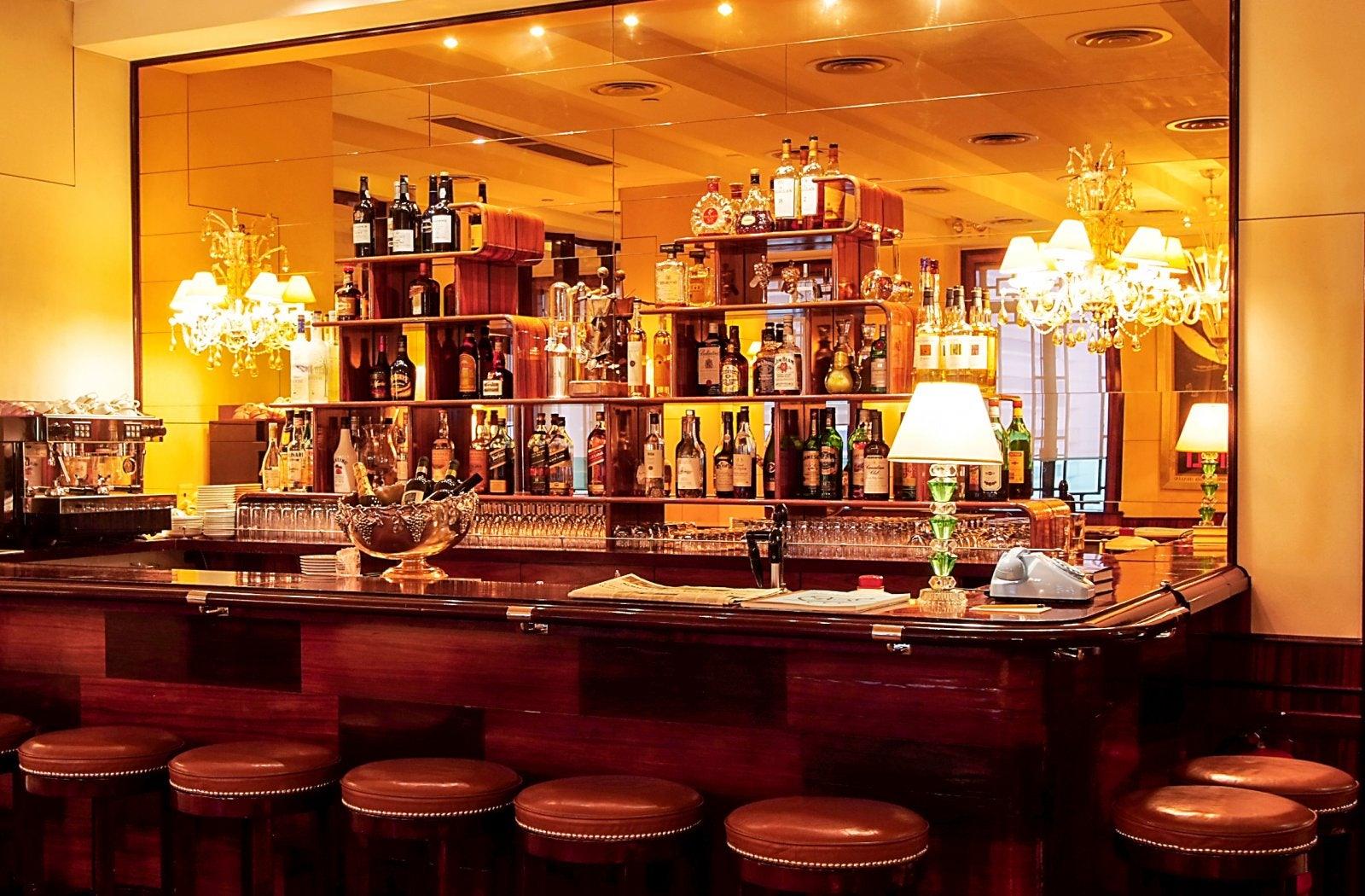 cocktail bar at Cipriani
