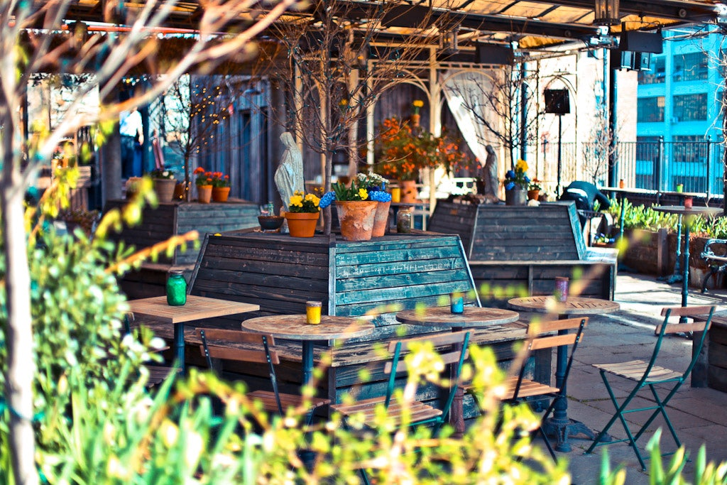 rooftop terrace at Gallow Green