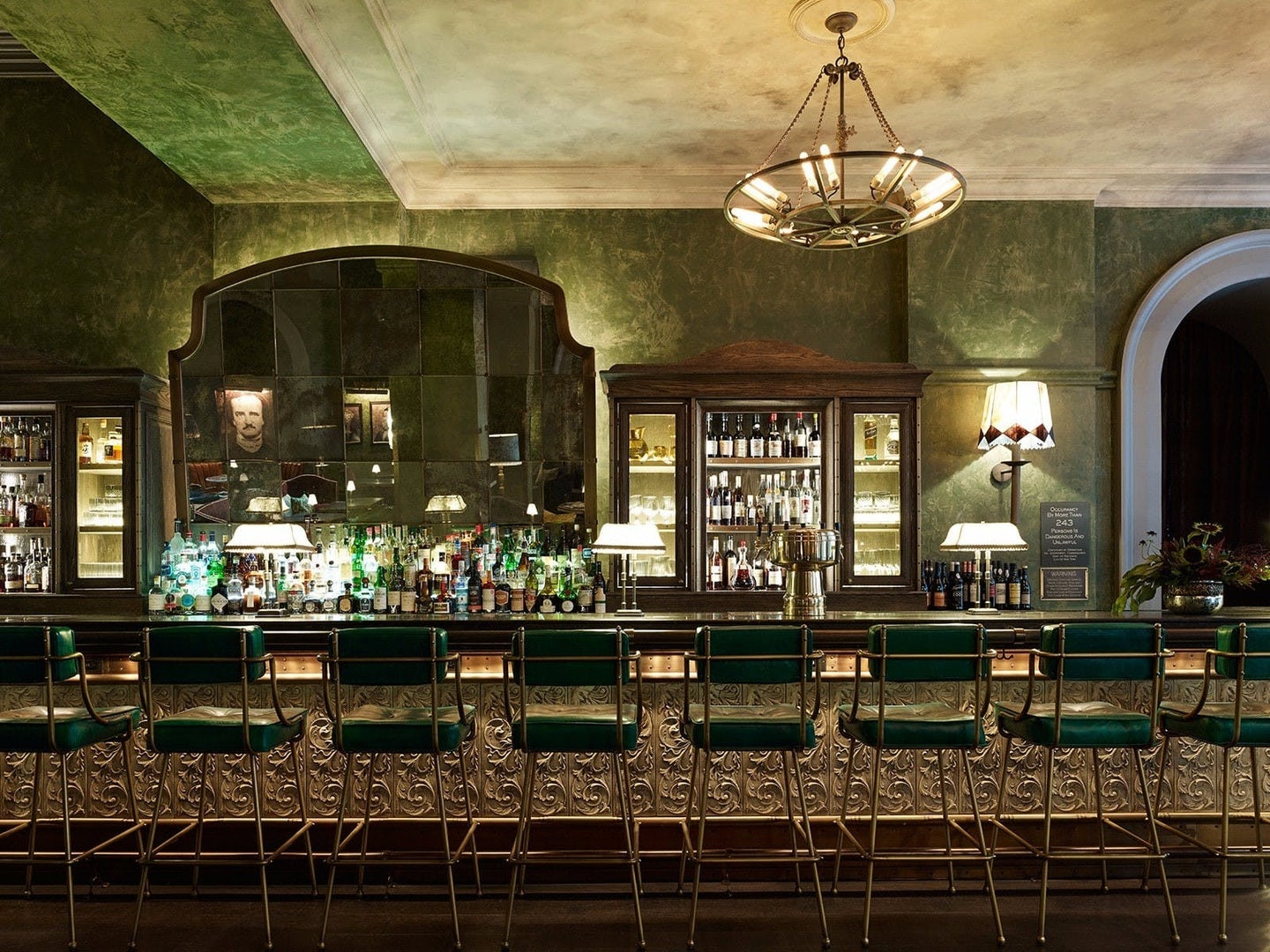 bar at Temple Court