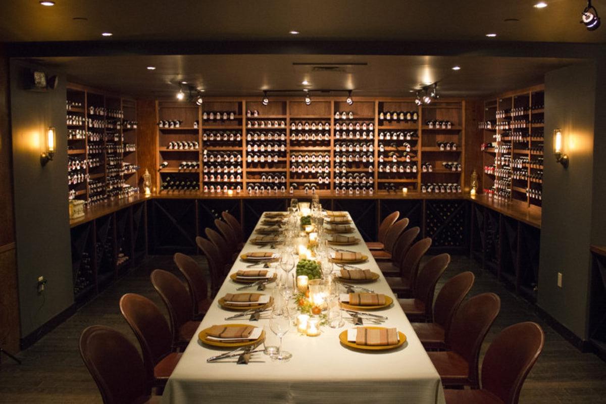 interior of BLACKBARN restaurant