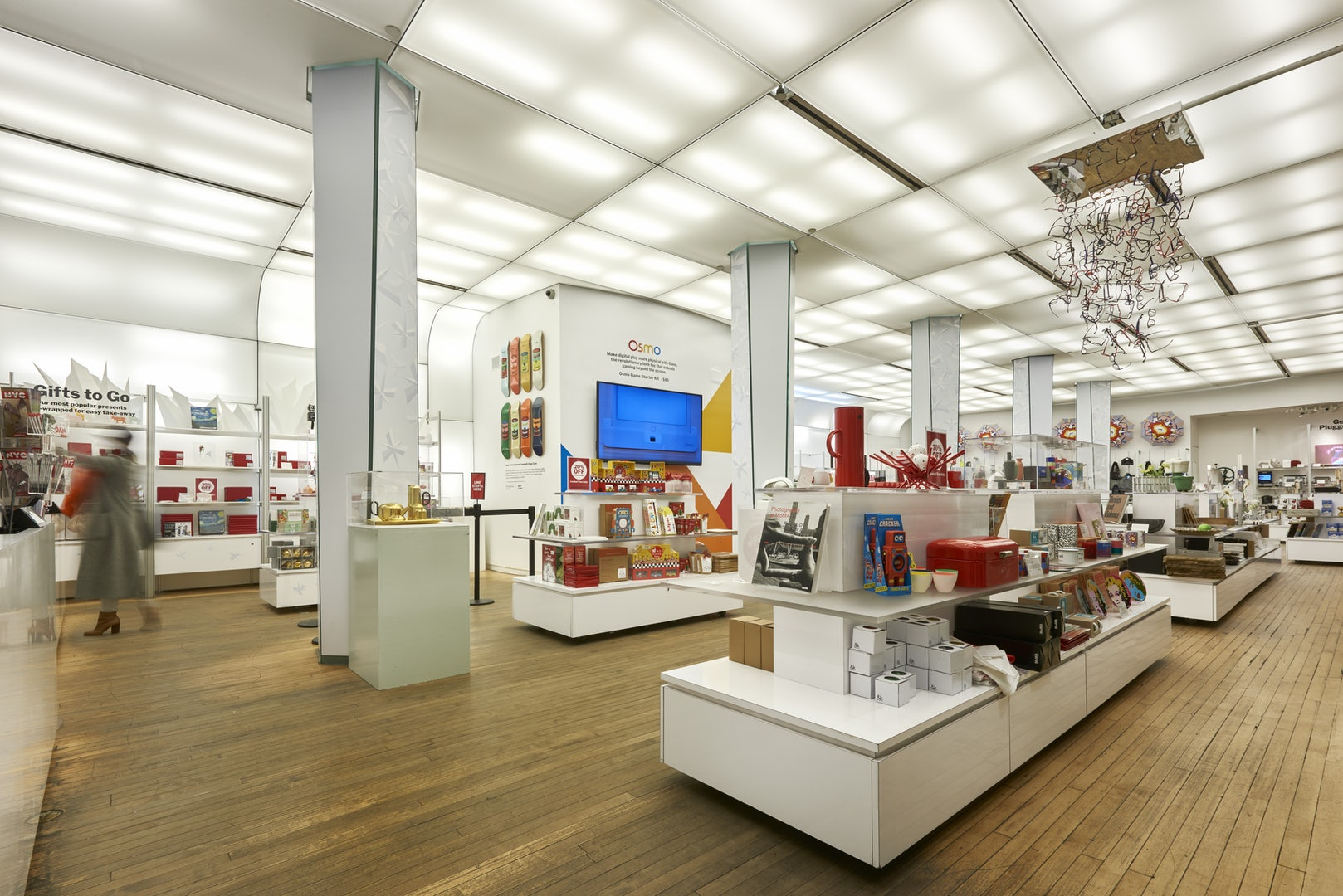interior of MOMA Design Store NYC