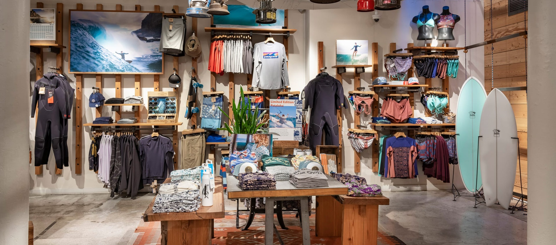 Patagonia shop in Soho NYC