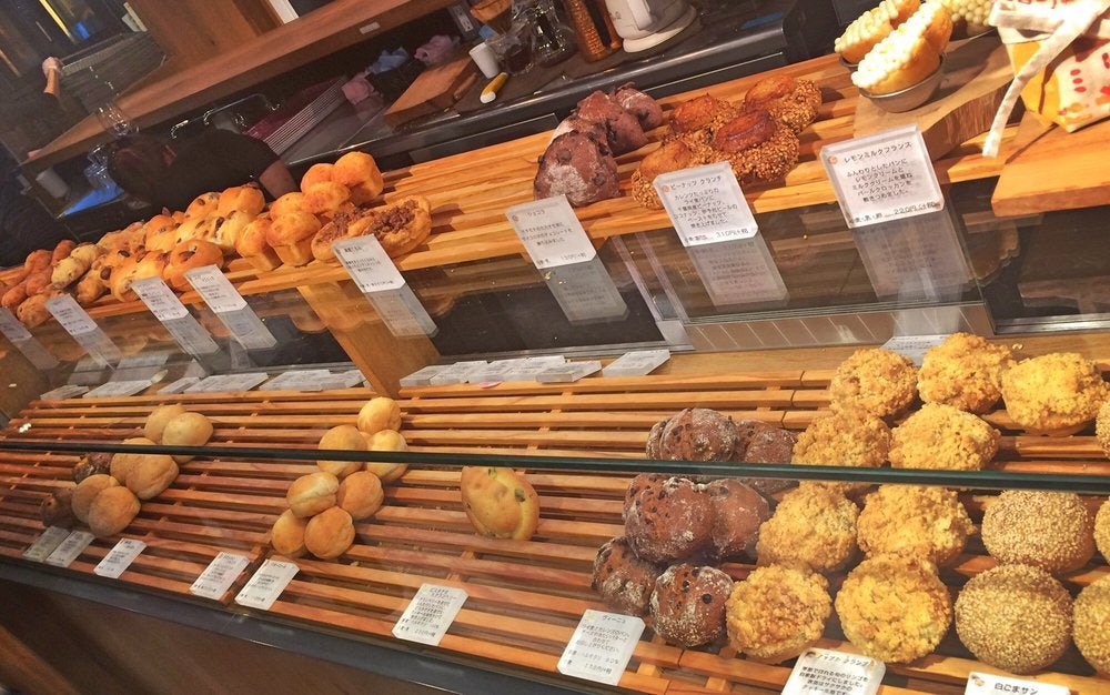 pastries and bread from 365 nichi in tokyo