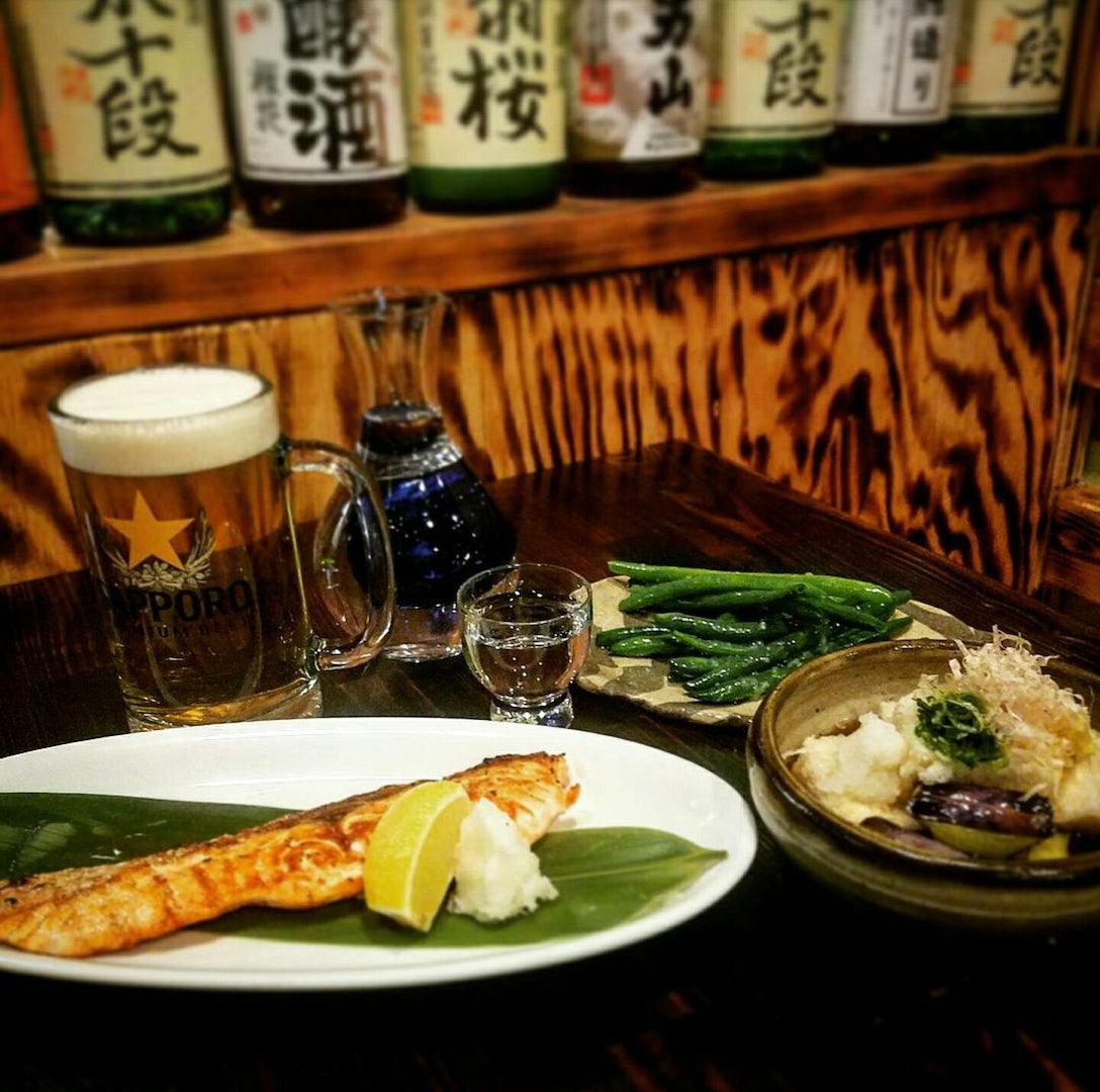 Japanese food at Sola