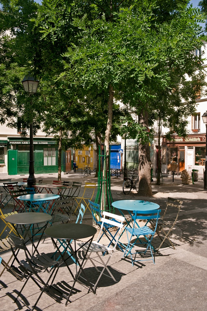 Place Sainte Marthe on a sunny day