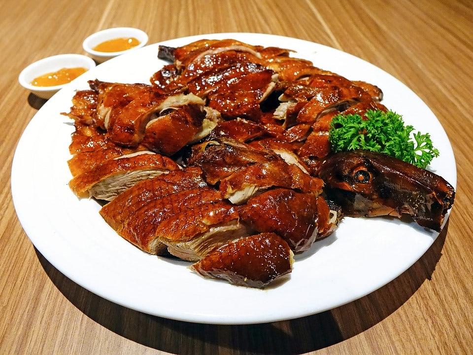 Antwerp Chinatown Crispy peking duck