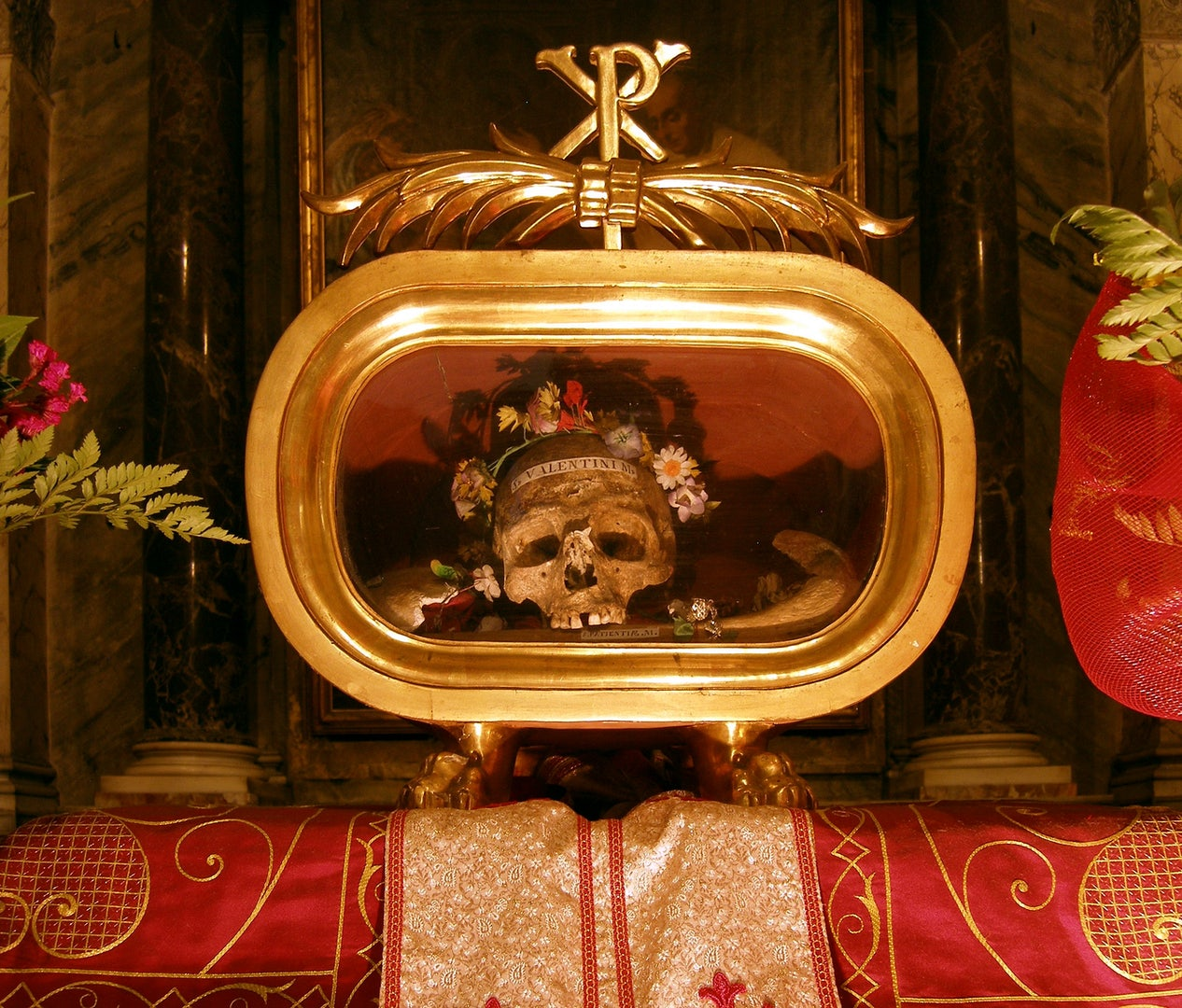 Skull of Saint Valentine