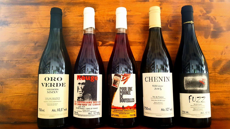 wines at Mosto