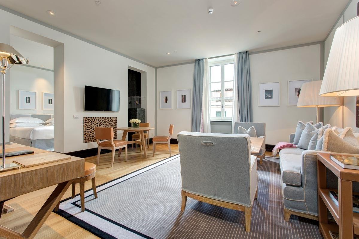 apartment interior of Portrait Roma