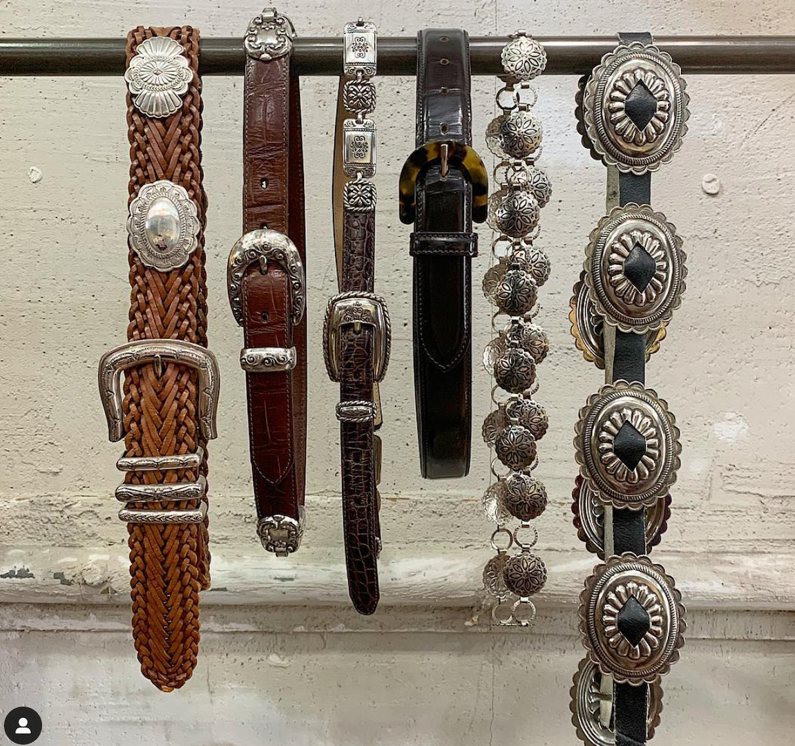 six belts with different design from Toga xtc
