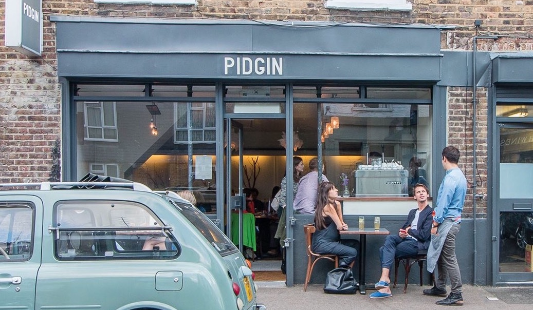 people sitting in front of Pidgin