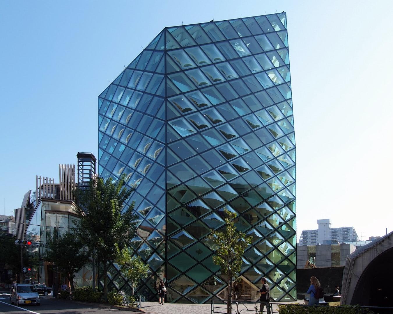 building of Prada in Tokyo