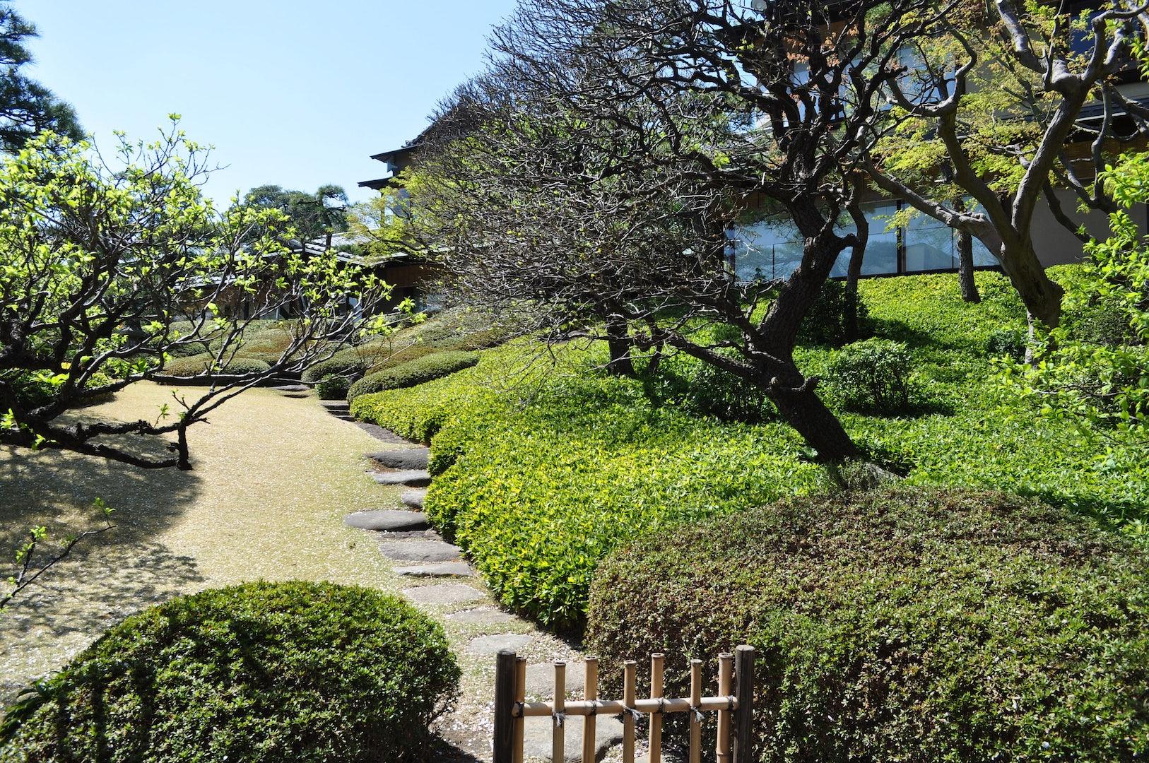 Happpo-en garden in Tokyo