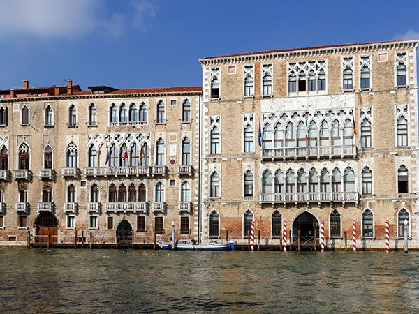 exterior of Ca' Foscari