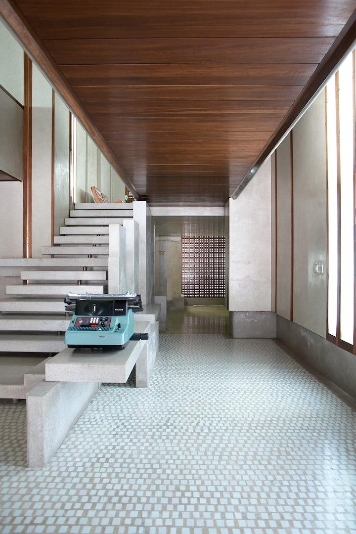 Scarpa architecture at Negozio Olivetti