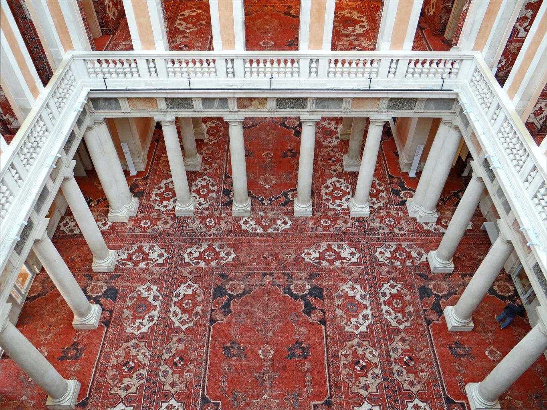 interior of Palazzo Grassi
