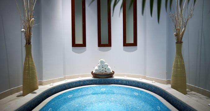 spa facility at Hilton Molino Stucky Venice