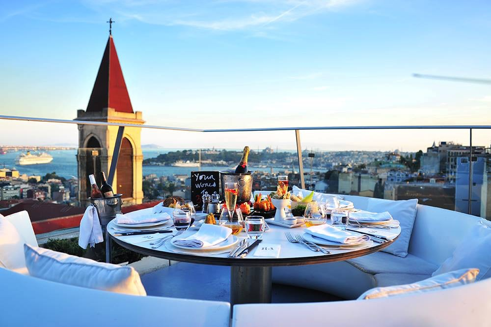 Istanbul - 360Istanbul - rooftop view