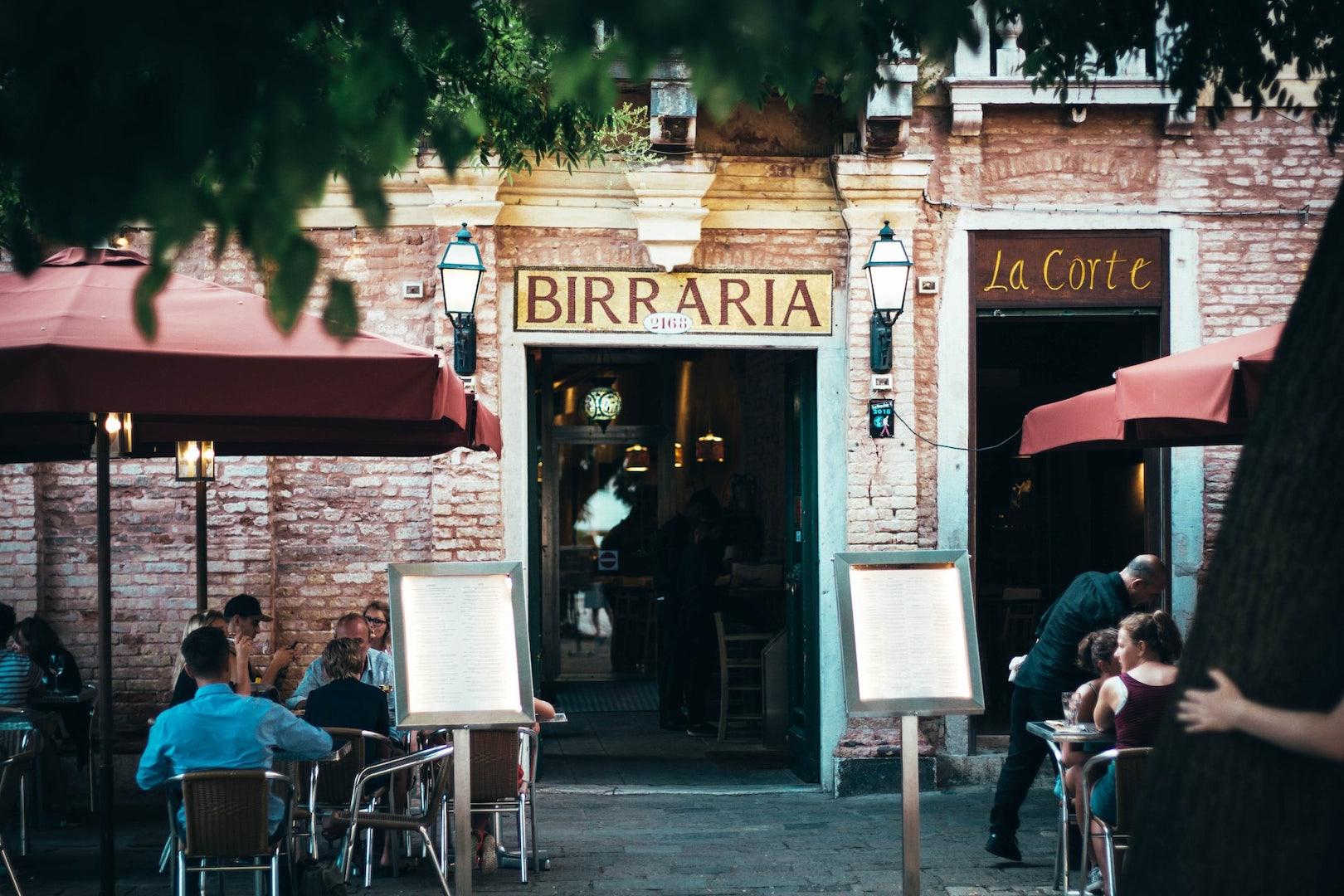 Venice - exterior Birraria La Corte