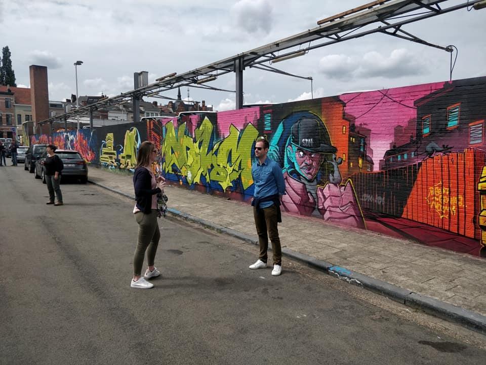 Antwerp - Street Art Minkelerstraat